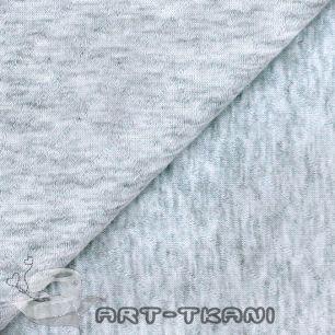 Лоскут трикотажной  стеганной ткани - Капитоне серый меланж