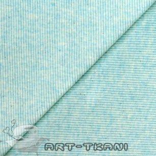 Лоскут трикотажной ткани кашкорсе Ментоловый меланж