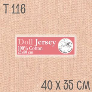 Трикотаж для кукол Белый ангел Т116 40*35 см