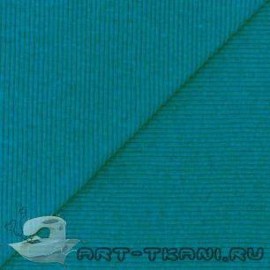 Лоскут трикотажной ткани кашкорсе Бирюзовый